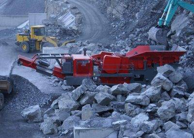 GipoBac B1385 FDR Jaw Crusher