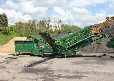 McCloskey S190 screener