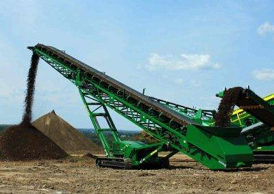 McCloskey ST80T Tracked Stacker