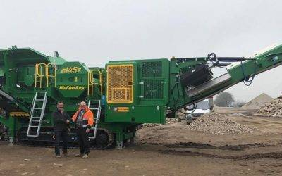 N Jagger Ltd purchase a McCloskey J45 from Agg Pro