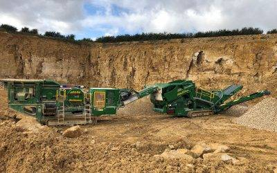 Creasey Crushing & Screening opt for McCloskey excellence