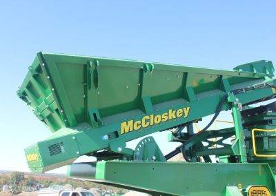 McCloskey C3 Cone Crusher - hopper