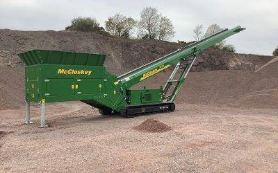 McCloskey Unveils New Feeder Stacker