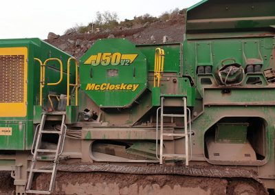 McCloskey J50 Jaw Crusher